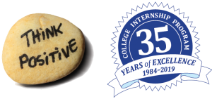 Think Positive :: College Internship Program 35 Years of Excellence 1984-2019