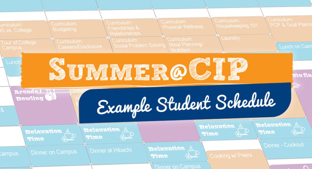 autism transition program   Summer Example Schedule Banner 1024x555 1